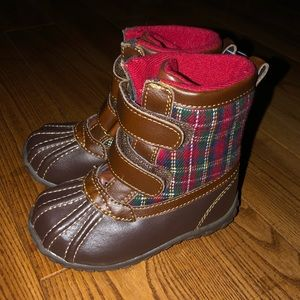 NEW BABY GAP Baby Toddler Boys Thinsulate Boots- 6